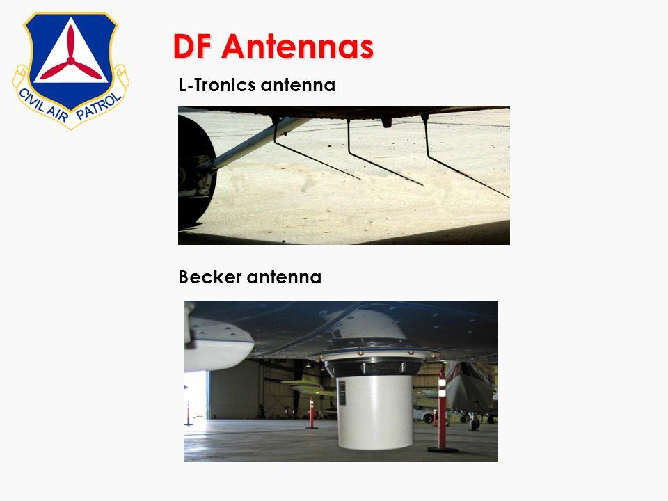 DF Antennas L-Tronics antenna Becker antenna