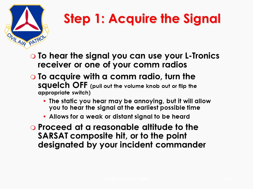Step 1: Acquire the Signal