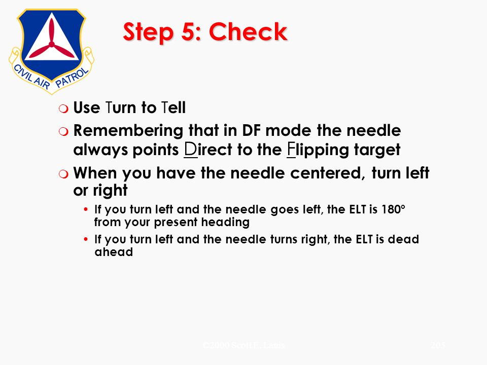 Step 5: Check Use Turn to Tell