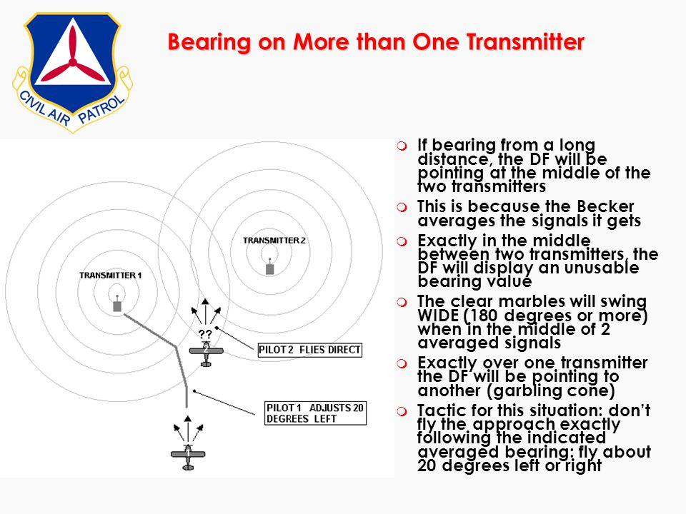 Bearing on More than One Transmitter