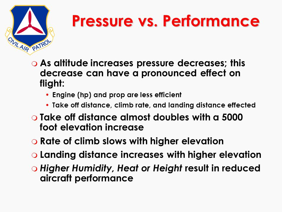 Pressure vs. Performance
