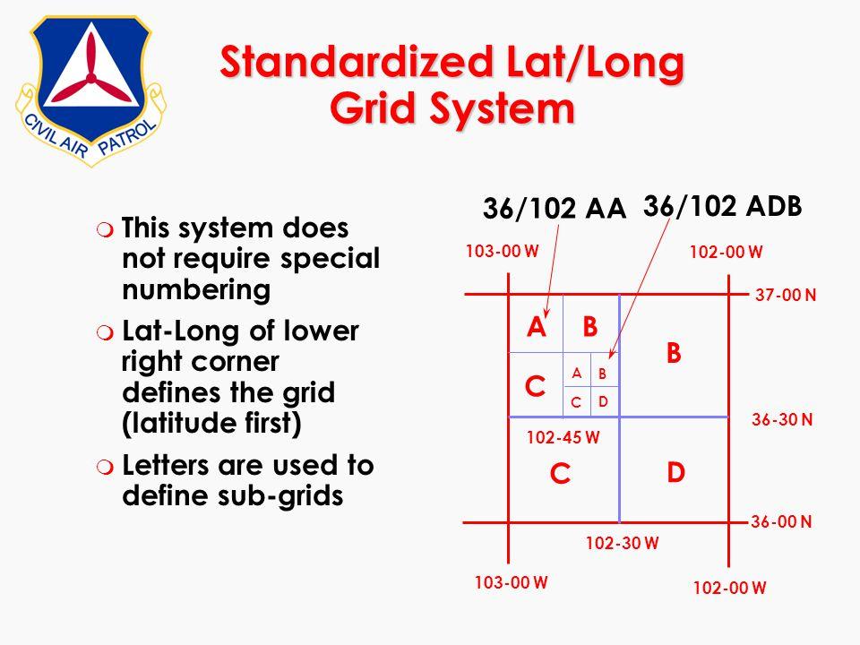 Standardized Lat/Long Grid System