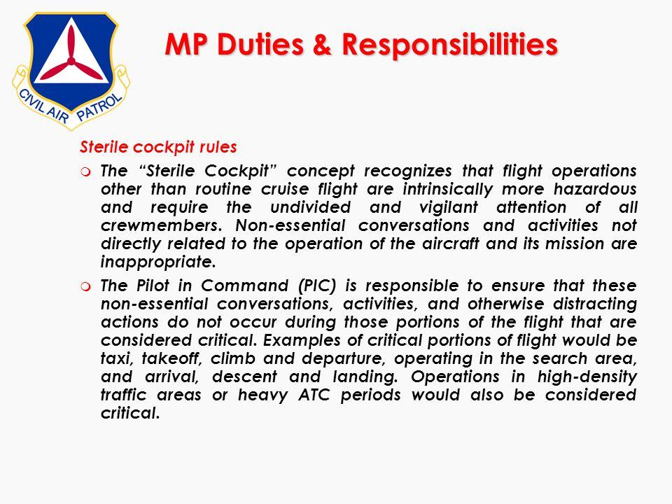 MP Duties & Responsibilities