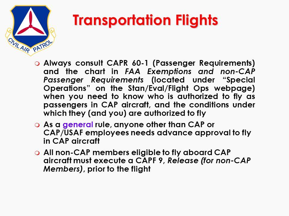 Transportation Flights