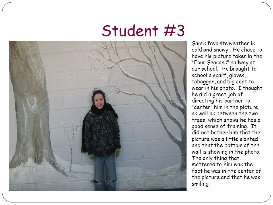 Student #3