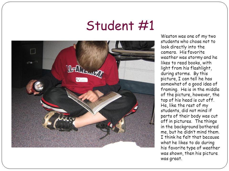 Student #1