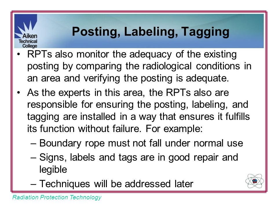 Posting, Labeling, Tagging