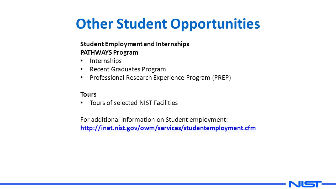 Other Student Opportunities