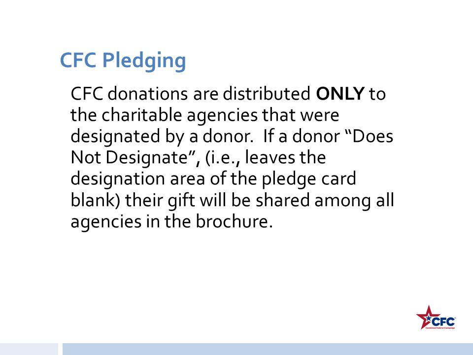 CFC Pledging