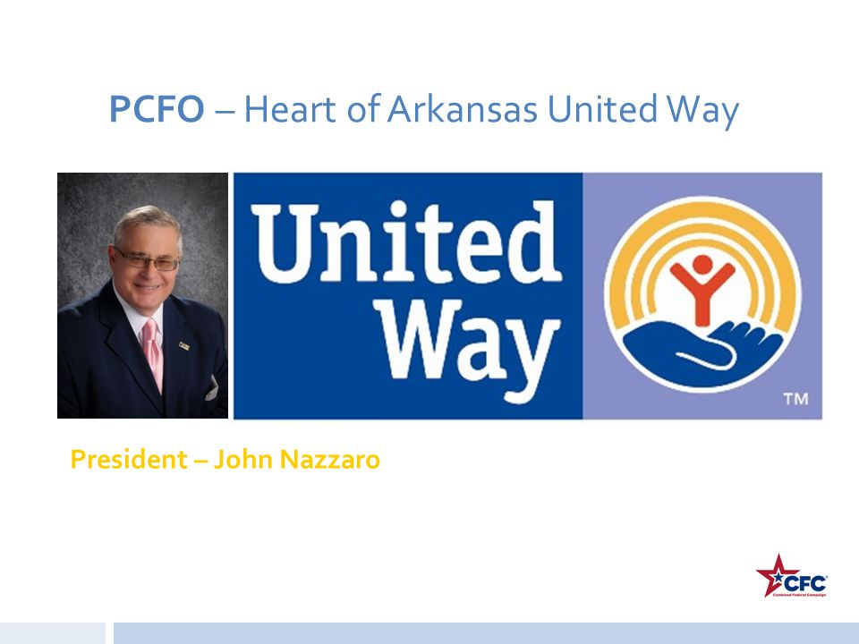 PCFO – Heart of Arkansas United Way