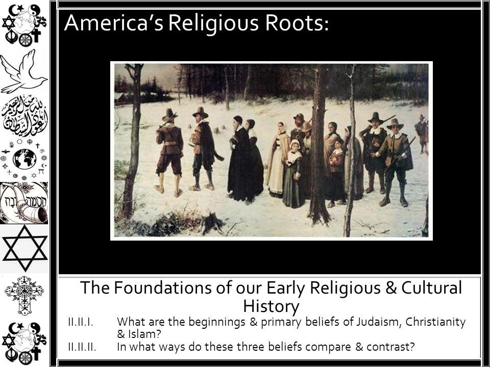 America's Religious Roots:
