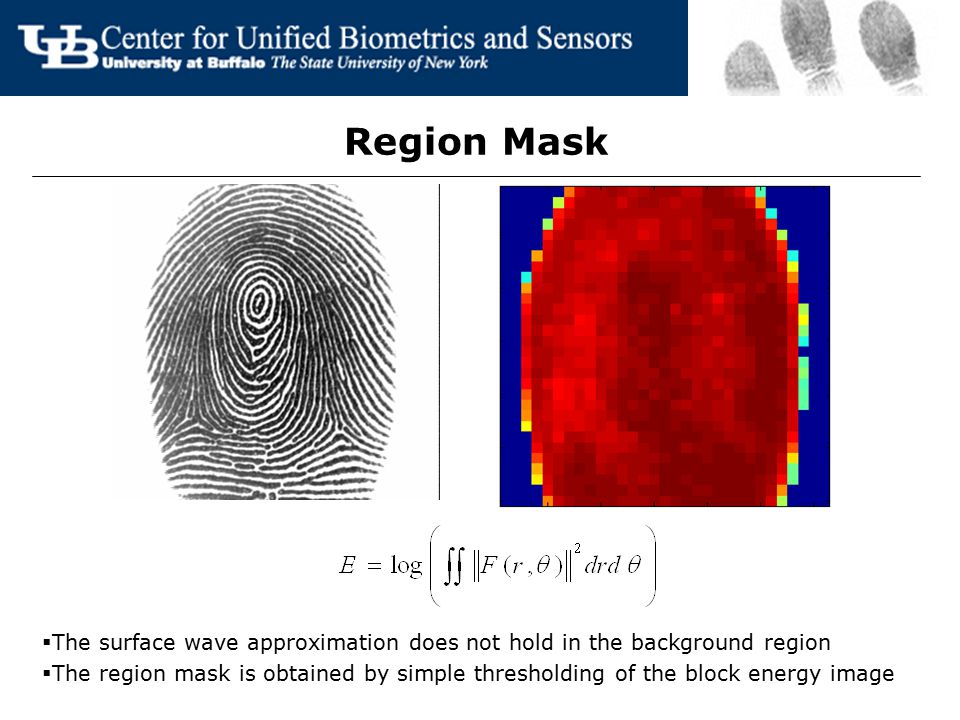 Region Mask The surface wave approximation does not hold in the background region.