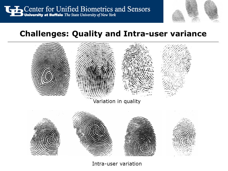 Challenges: Quality and Intra-user variance