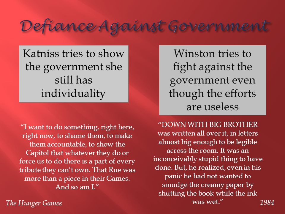 Defiance Against Government