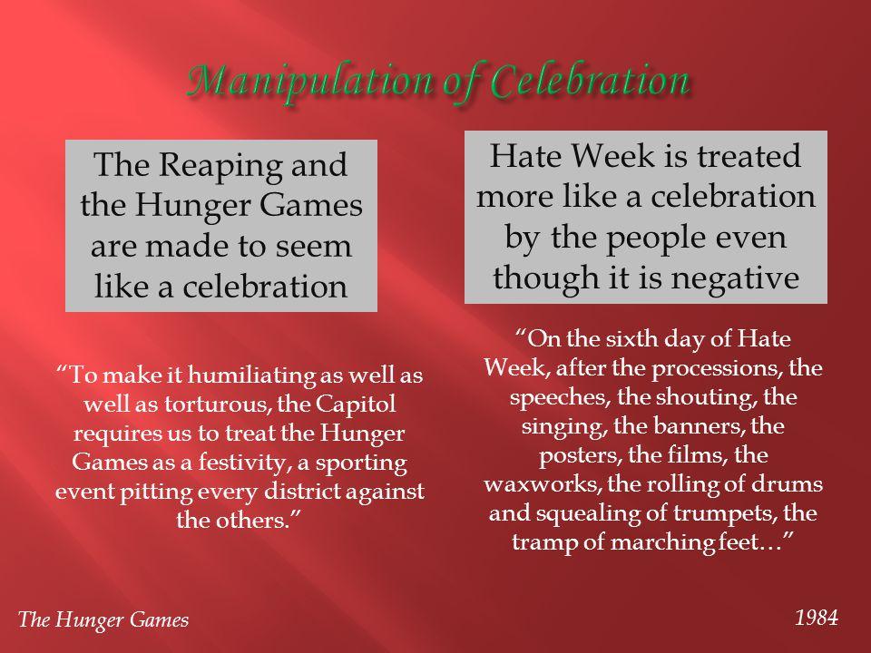 Manipulation of Celebration