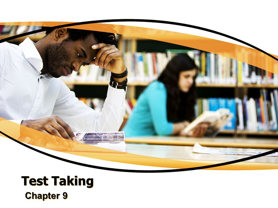 Test Taking Chapter 9