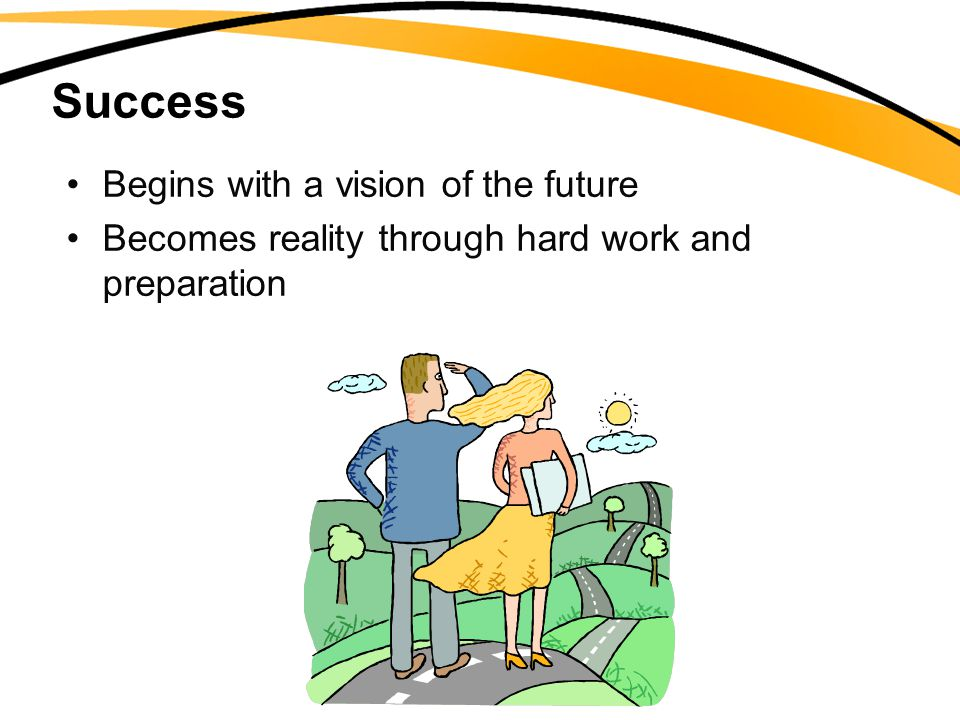 Success Begins with a vision of the future