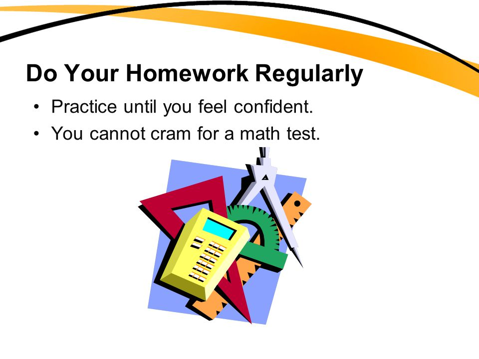 Do Your Homework Regularly