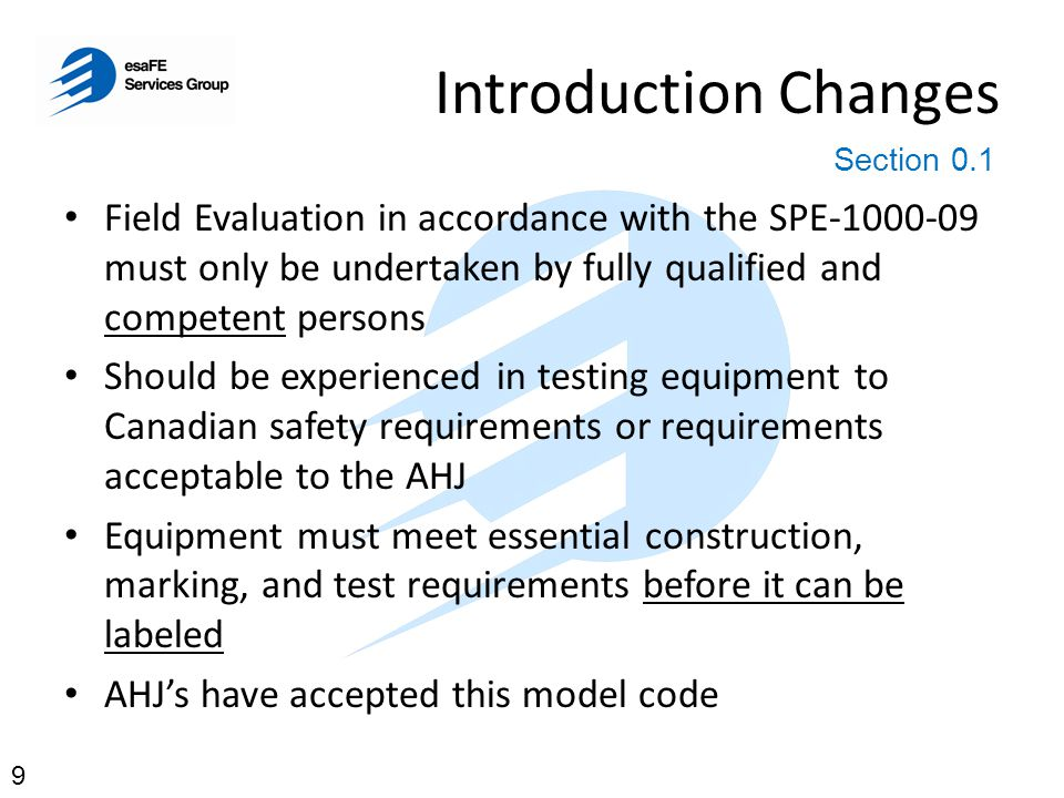 Introduction Changes Section 0.1.