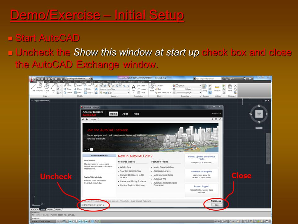Demo/Exercise – Initial Setup