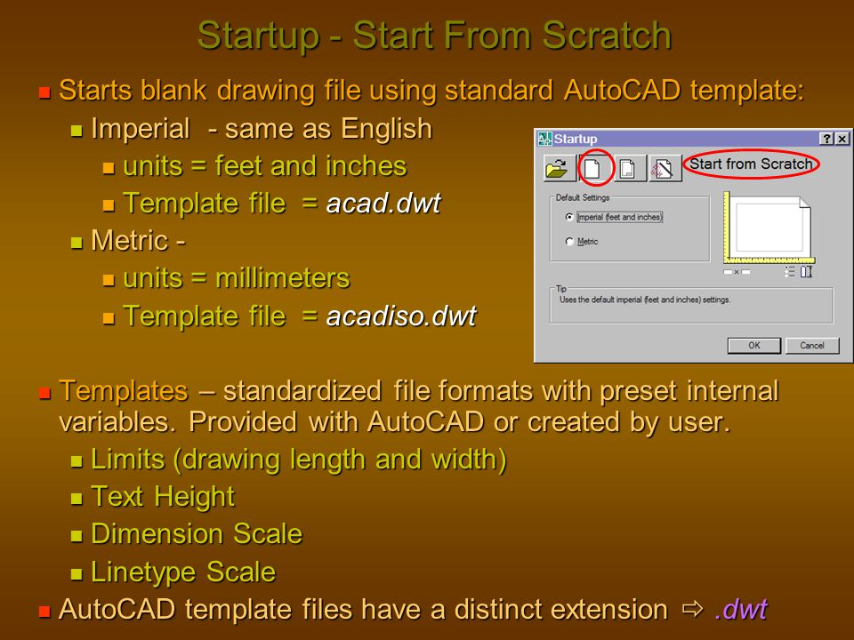 Startup - Start From Scratch