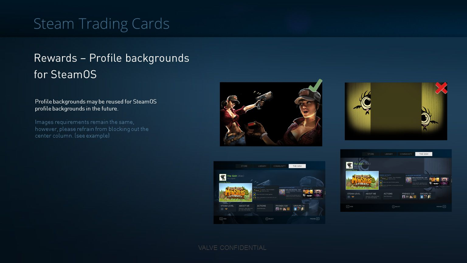 Steam Trading Cards Rewards – Profile backgrounds for SteamOS