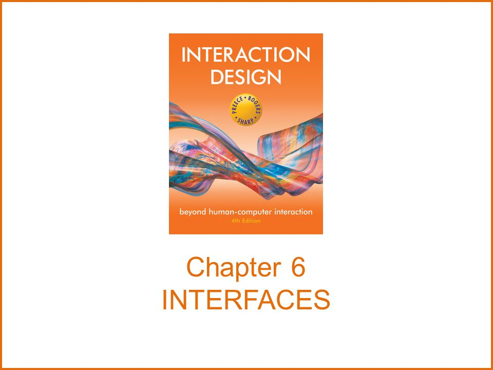 Chapter 6 INTERFACES