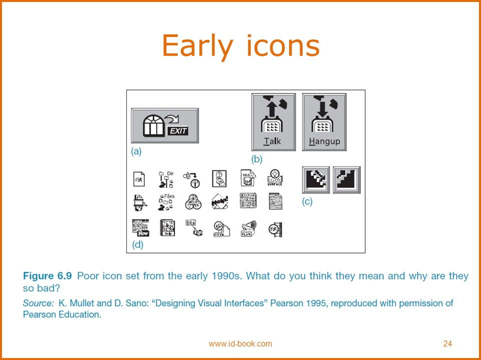 Early icons www.id-book.com 24