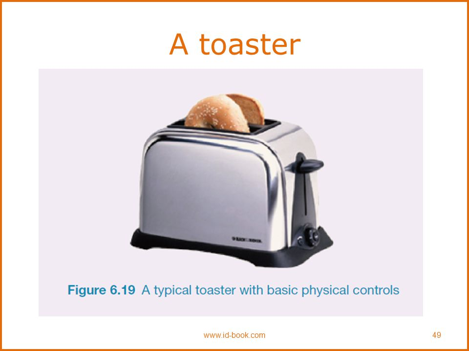 A toaster www.id-book.com