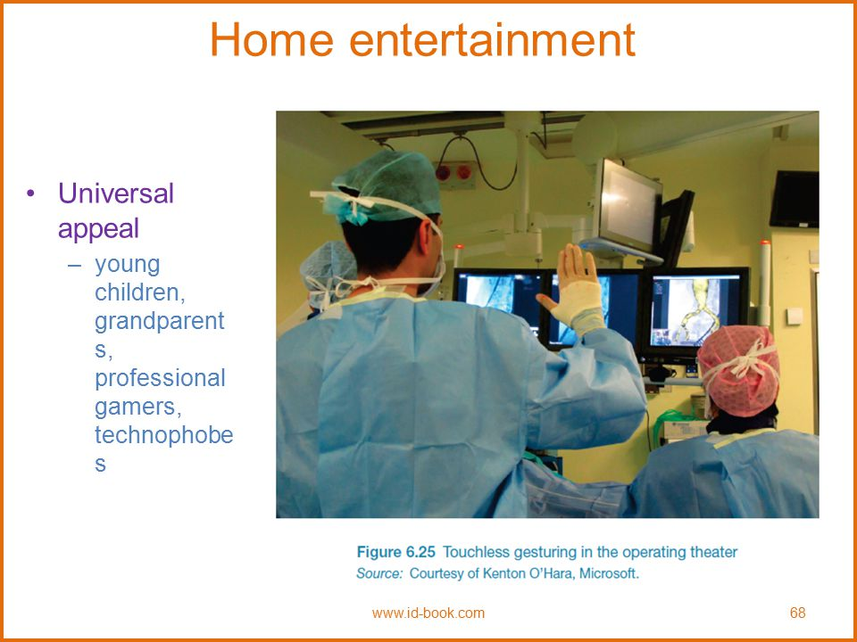 Home entertainment Universal appeal