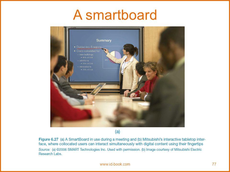 A smartboard www.id-book.com 77