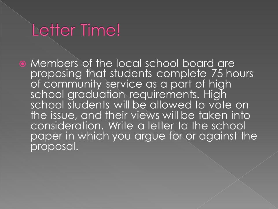 Letter Time!