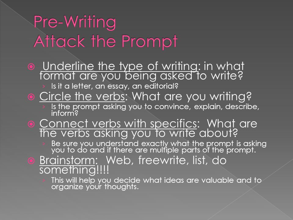Pre-Writing Attack the Prompt