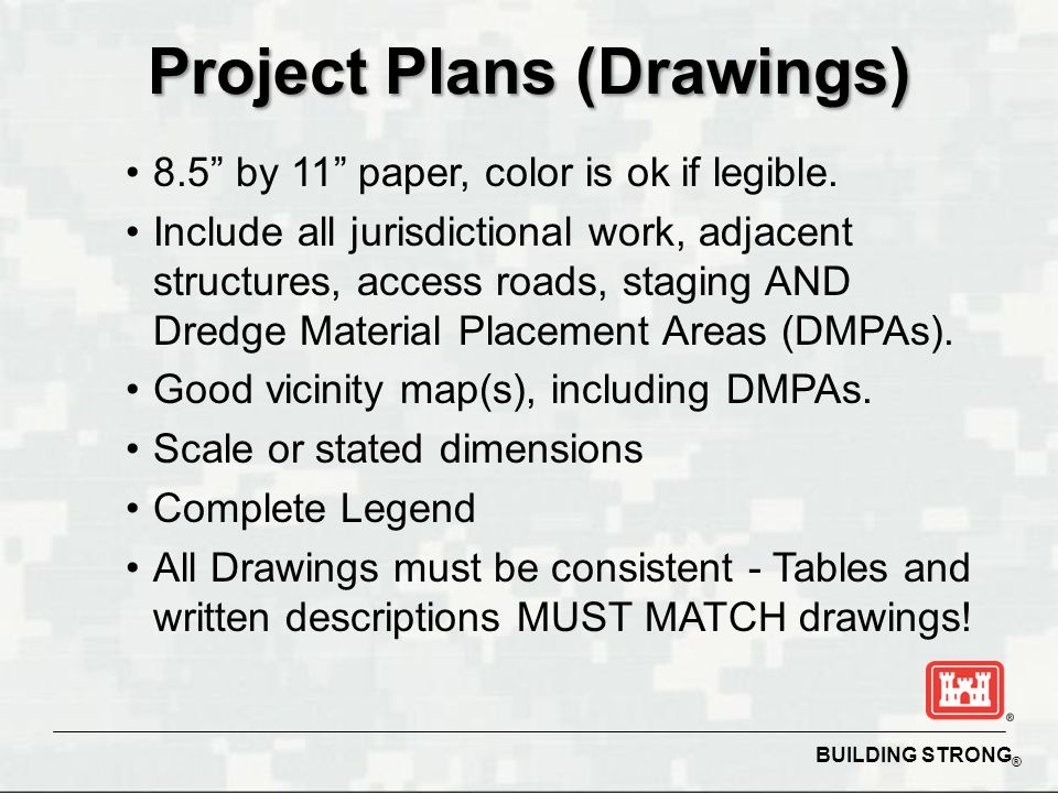 Project Plans (Drawings)