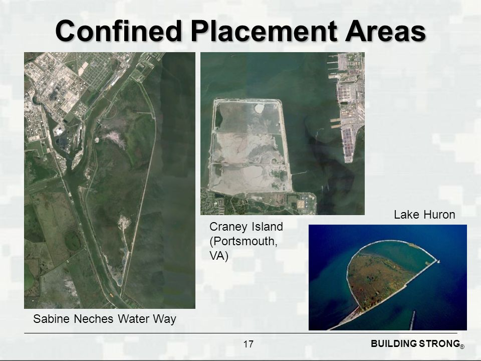 Confined Placement Areas