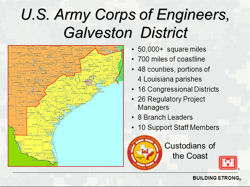 U.S. Army Corps of Engineers, Galveston District