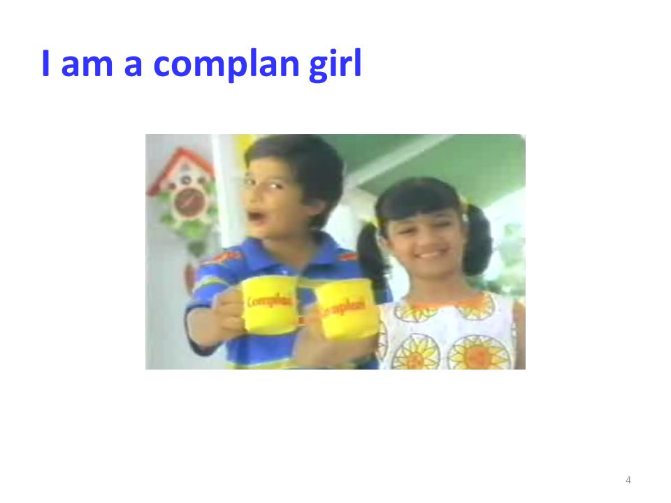 I am a complan girl
