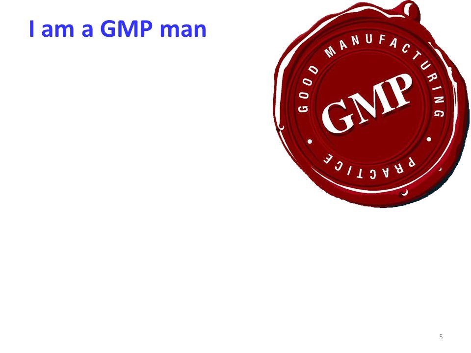 I am a GMP man