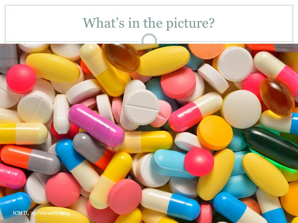 What's in the picture ICM II, 24 February 2014