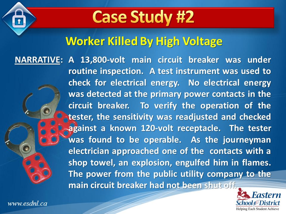 Worker Killed By High Voltage