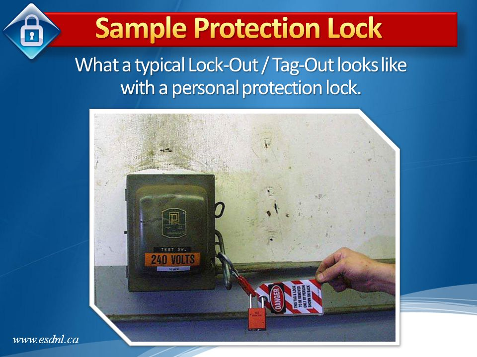 Sample Protection Lock