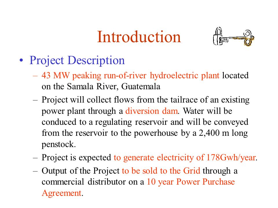 Introduction Project Description