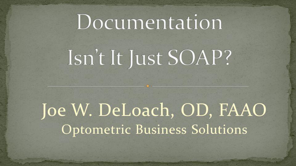 Documentation Isn't It Just SOAP