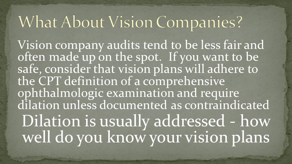 What About Vision Companies