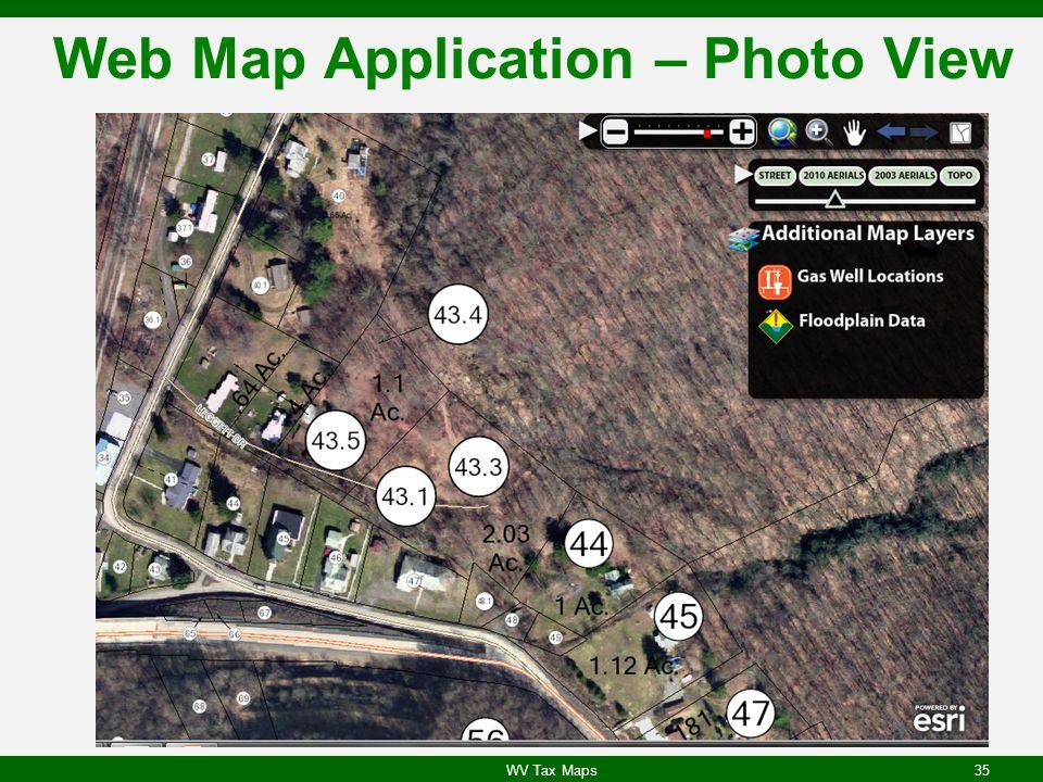 Web Map Application – Photo View