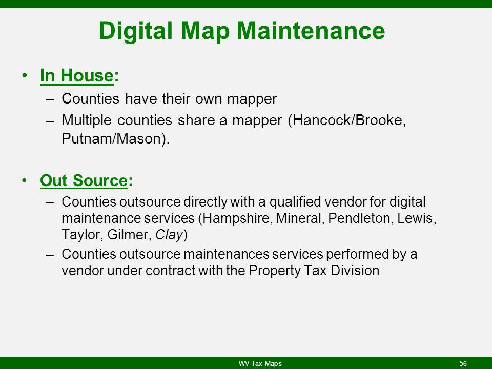 Digital Map Maintenance
