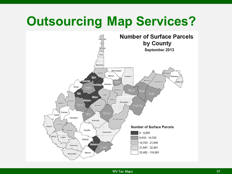 Outsourcing Map Services