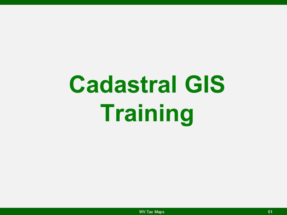 Cadastral GIS Training