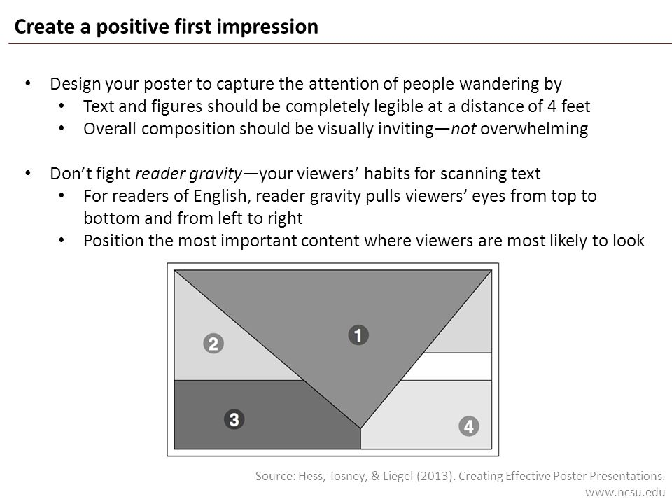 Create a positive first impression