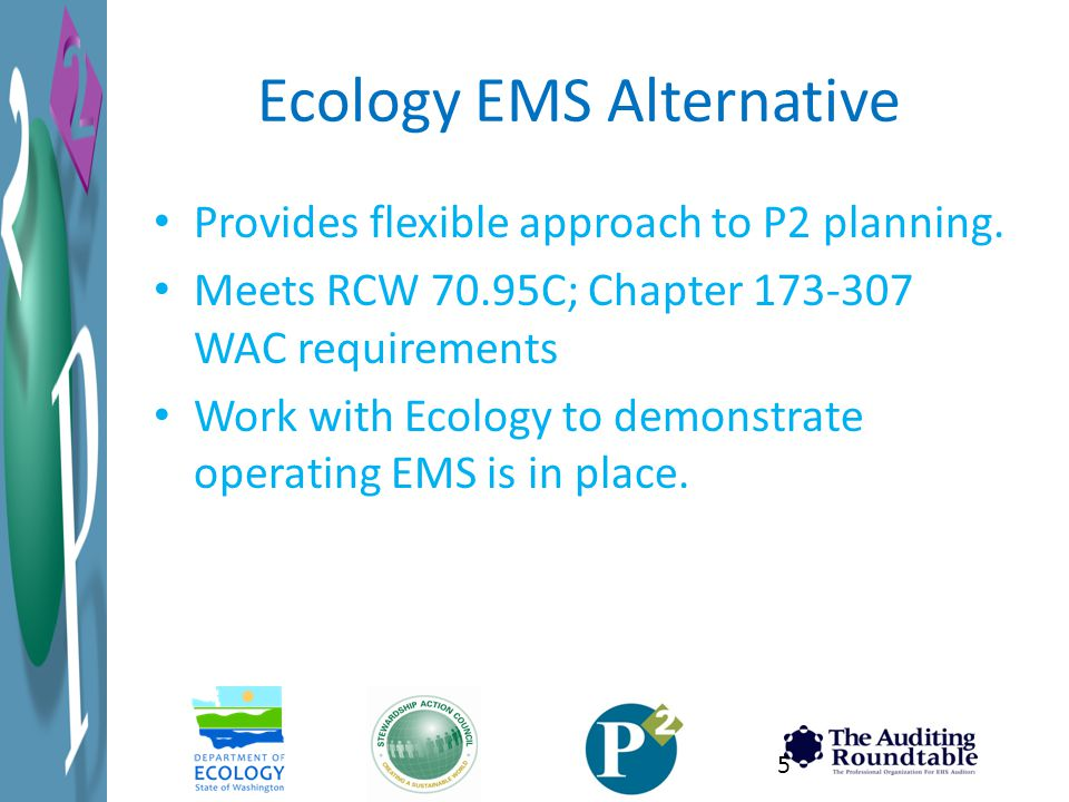 Ecology EMS Alternative